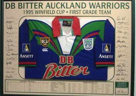 DB Bitter Warriors Jersey