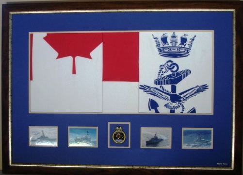 Navy Flag and  photographs