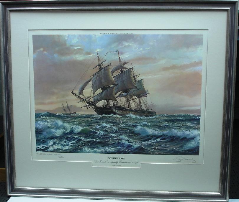 Watercolour Sailing ship Print