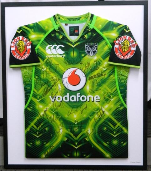 Green Warriors jersey