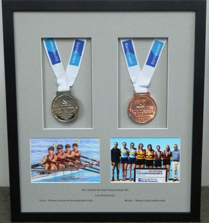 Rowing Silver and  Bronze medals