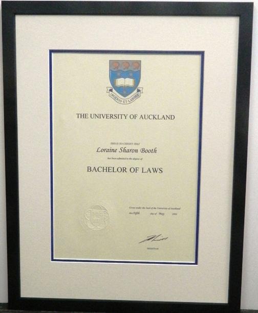Auckland University Diploma