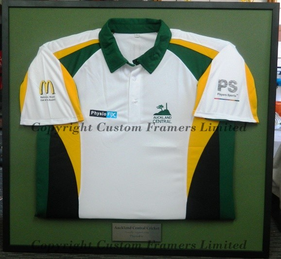 Framed Sports Jerseys | Clothing Framing