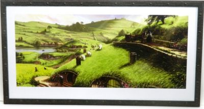 Hobbitt location print