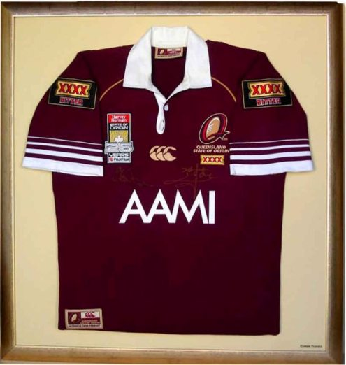 Queensland 2006 State of Origin jersey.
