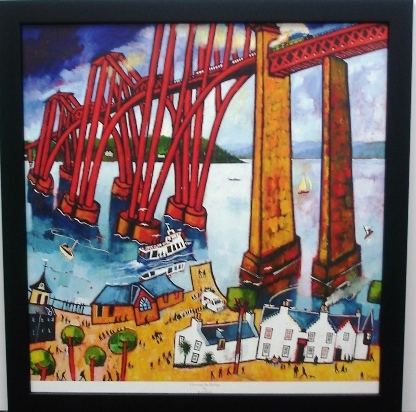 Scottish Poster Crossing the Bridge
