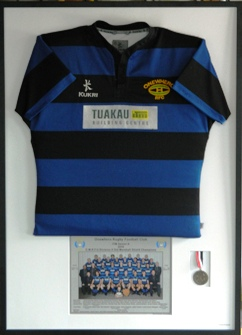 Tuakau Jersey with Photo & medal