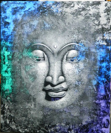 Canvas Stretching-Budda
