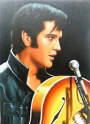 Stretched Canvas - Elvis Presley