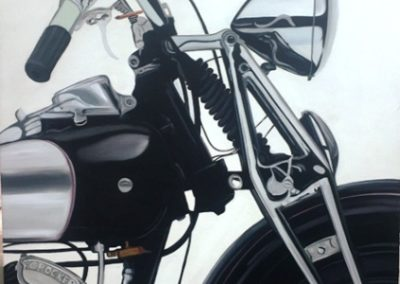 Motor Bike Canvas