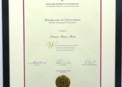 Education Diploma Framing