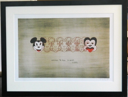 Mickey to Tiki print