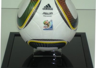 Soccer Ball & Base Memorabillia