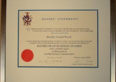 MasseyUniversity Diploma