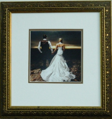 Wedding day framing