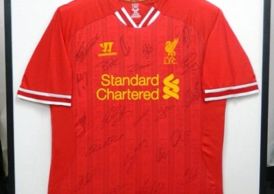 Sigmed Liverpool Soccer Shirt