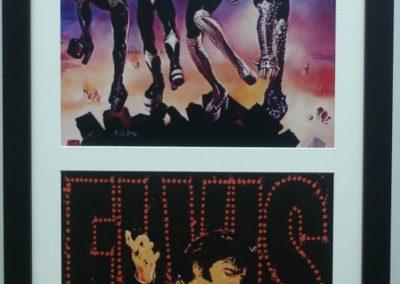 Framed Music poster