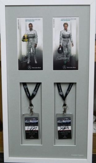 Motor racing memorabilia