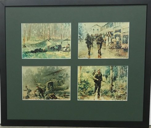 Framed Army Pictures