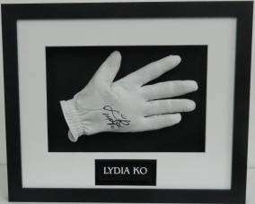 Lydia Ko Glove and plaque
