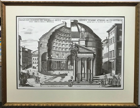 Italian Pantheon Print