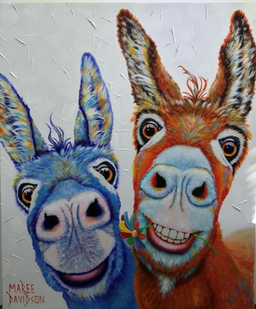 Donkey Canvas