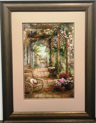 Garden Entrance Embroidery