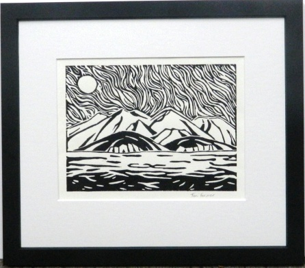 Lino Cut Mountains image