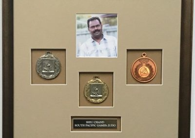 South Pacific games medals