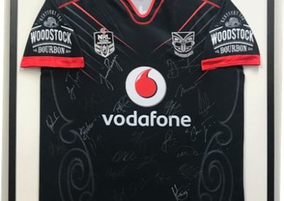 Signed Warriors Jersey 2018