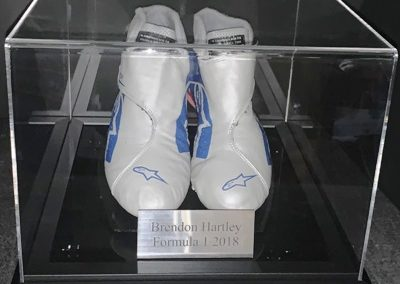 Brendon Hartley Racing Boots