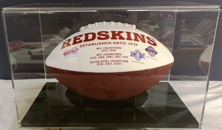 Redskins Super bowl ball