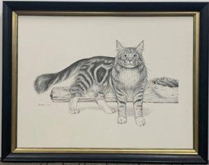 John Smithson original drawing