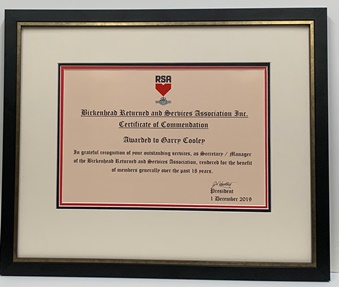 RSA certificate triple matted