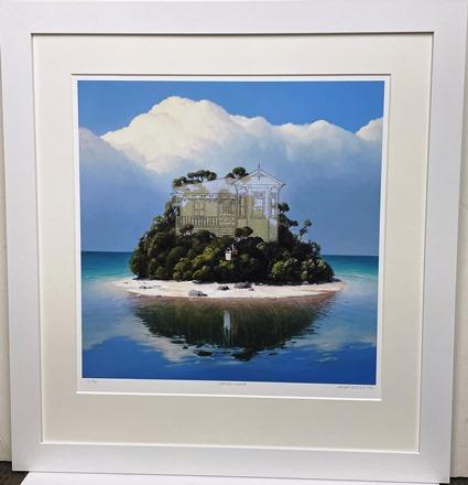 Barry Smith Ltd Edt Island Print