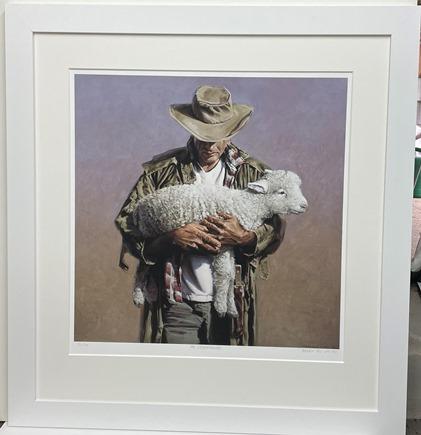 Barry Smith Ltd Edt Print Sheep Minder