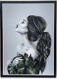 Female Headshot print