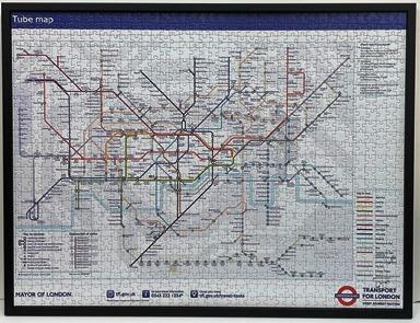 London Tube Jigsaw