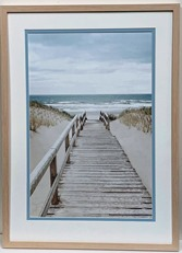 Pathway to the sea Print
